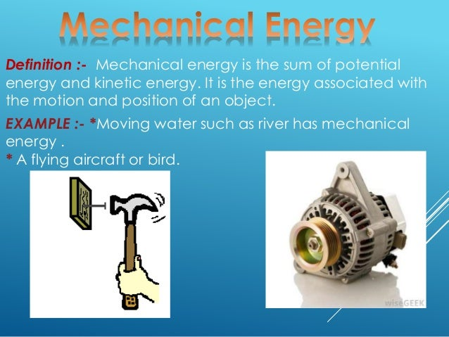 the mechanical energy 2 chapter 2 mechanical energy the newton(n),after sir isaac newton one newton is a rather small amount of force,roughly the weight of a small apple (near earth's.