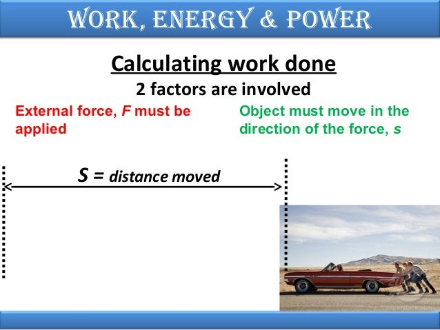 how to find work physics