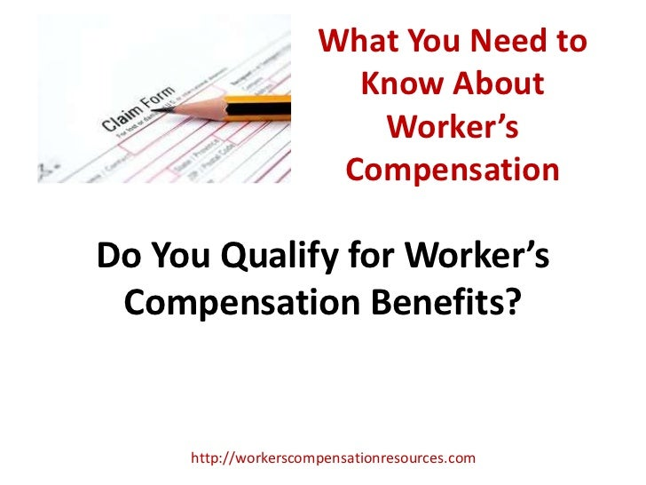 What You Need to                        Know About                         Worker's                       CompensationDo Y...