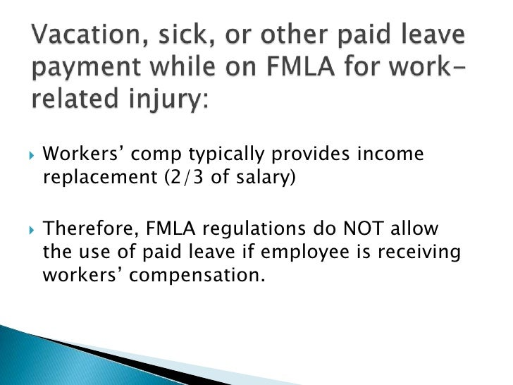 fmla and workers compensation termination letter