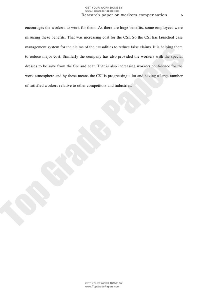 What Is The Thesis Of A Research Essay Topgradepaperscom  Compare Contrast Essay Papers also College Essay Paper Format Workers Compensation Academic Assignment Essay  Wwwtopgradepapers Graduating From High School Essay