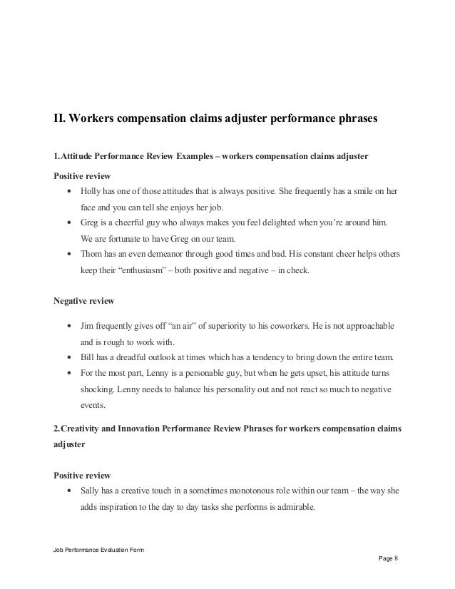 Workers Compensation Resume Objective