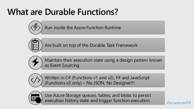 Workflow as code with Azure Durable Functions