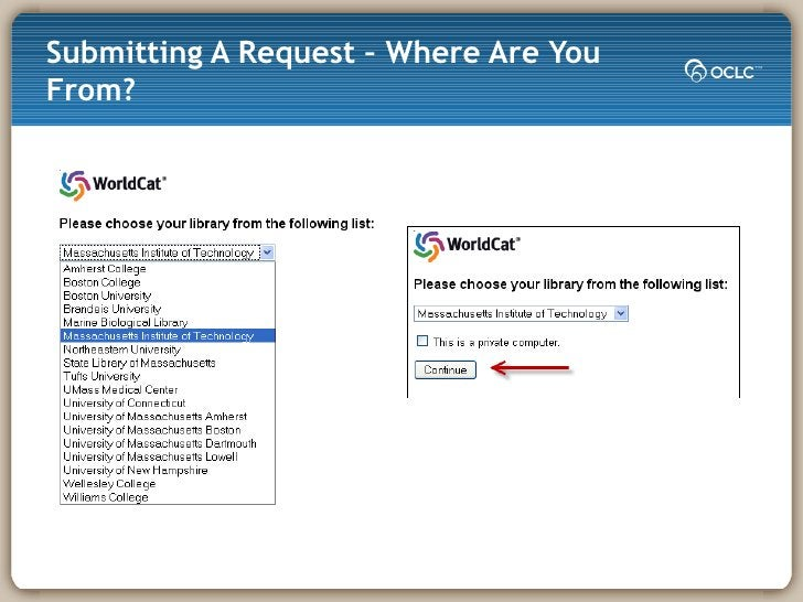 Submitting A Request – Where Are You From?