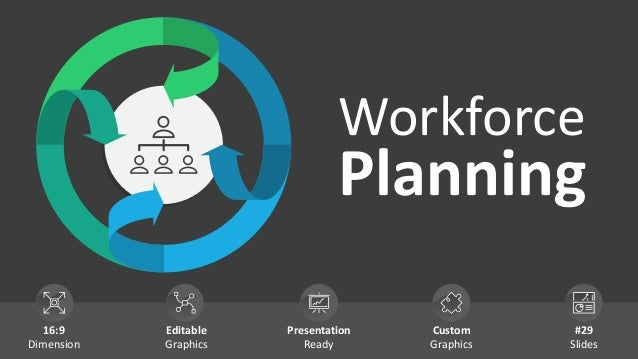 Workforce Planning 16:9 Dimension Editable Graphics Presentation Ready Custom Graphics #29 Slides