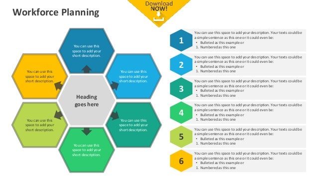 Workforce Planning Editable PowerPoint