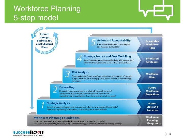 Workforce Planning5-step model                     3