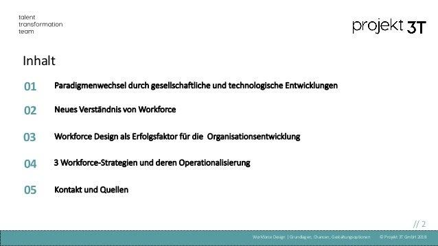 Workforce Design Projekt 3T Slide 2