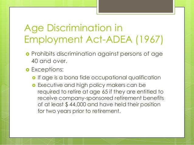 Age discrimination paper term work