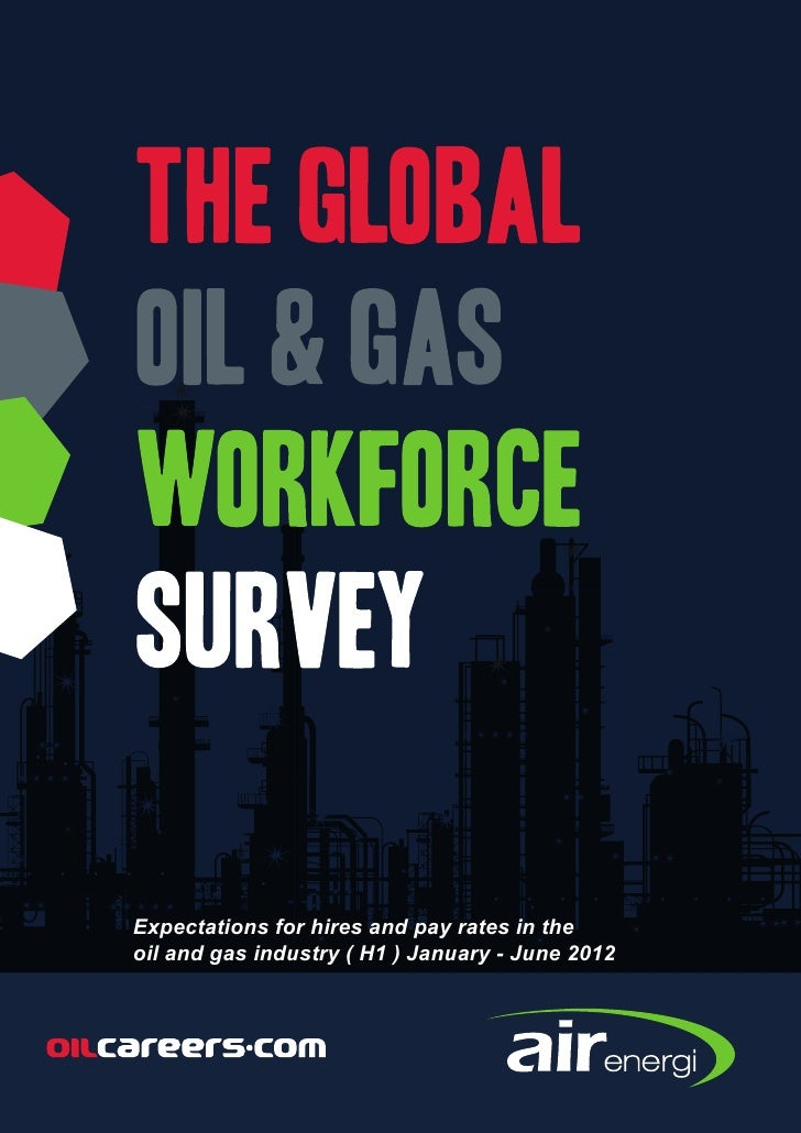 Expectations for hires and pay rates in theoil and gas industry ( H1 ) January - June 2012