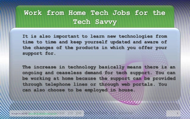 tech support jobs work from home work from home tech jobs for the tech savvy 7910