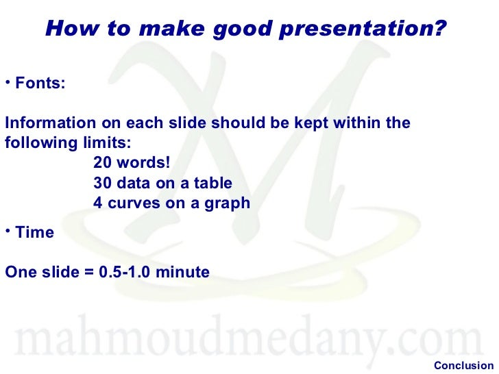 how to make a good presentation on publisher