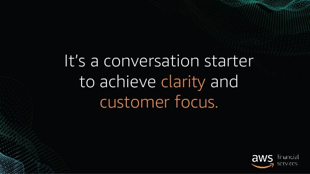 We push ourselves to invent on behalf of the customer.