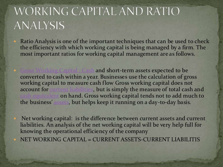  Positive working capital: means that the company  is able to pay off its short-term liabilities     -> When current asse...