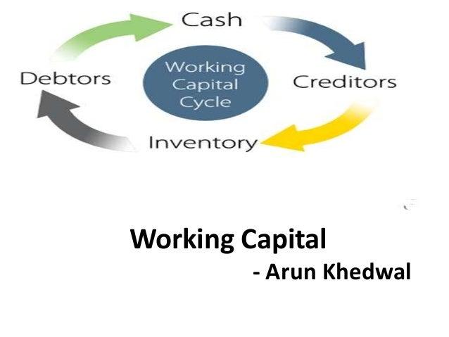 Working Capital - Arun Khedwal
