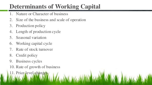 Dimension I Profitability, Risk, & Liquidity Nature of Working Capital Management