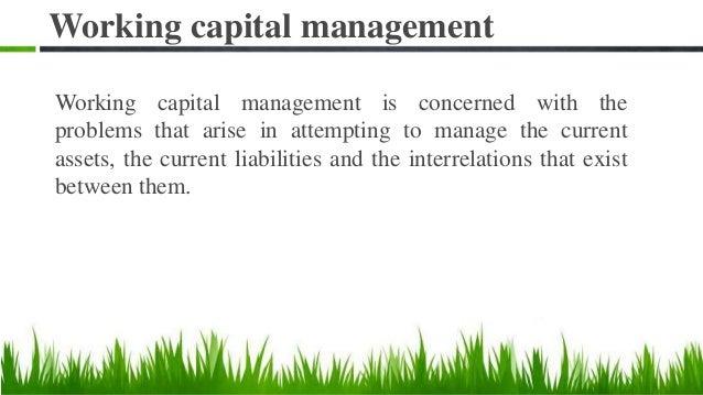 Working capital Slide 3
