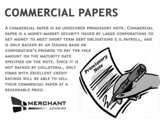 Topic       Short Term Debt  Debt Markets    Uni Study Guides The Balance Envoy Textiles has raised Tk    crore through commercial papers  a short term  unsecured debt instrument