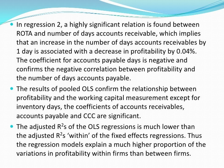 Conclusions The small firms should ensure a good synchronization of its  assets and liabilities. The paper and printing ...