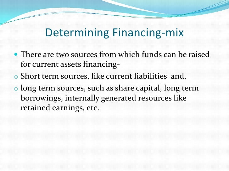 The Operating-cycle and Working              Capital Needs The working capital requirements of a firm depends, to a great...