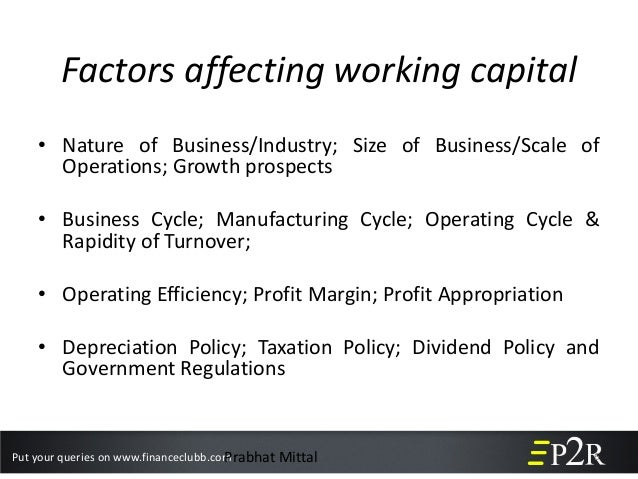 factors having an influence on doing business capital essay