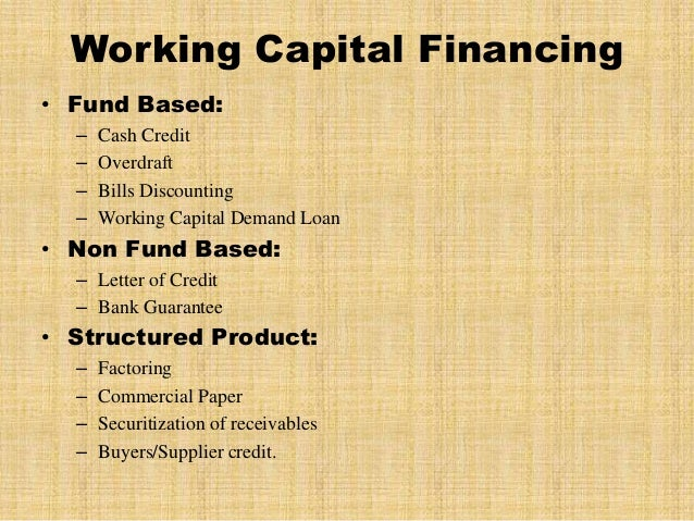 thesis on finance on working capital Investments in securities & financial investments assets of other firms short-lived assets equity investment in firm debt obligations of firm current liabilties short-lived(working capital) assets expected value that will be created by future investments aswath damodaran 8 the income.