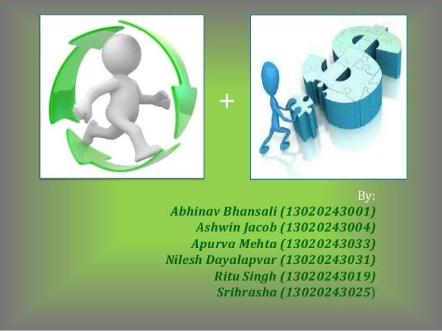 + By: Abhinav Bhansali (13020243001) Ashwin Jacob (13020243004) Apurva Mehta (13020243033) Nilesh Dayalapvar (13020243031)...