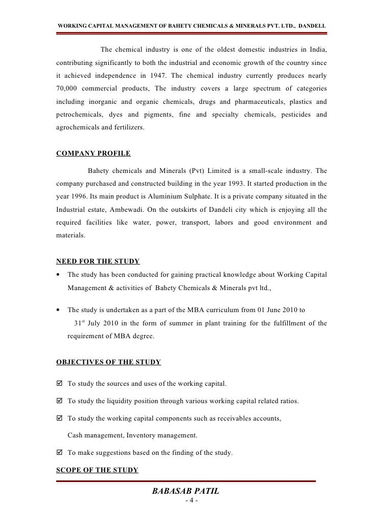 Forex project report mba