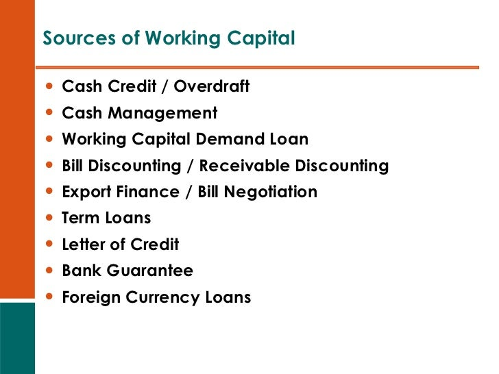 cash and working capital essay The simpler definition describes working capital as the cash available for the day-to-day operations as a business daily operations cash comes from assets such as the sale of merchandise, and .