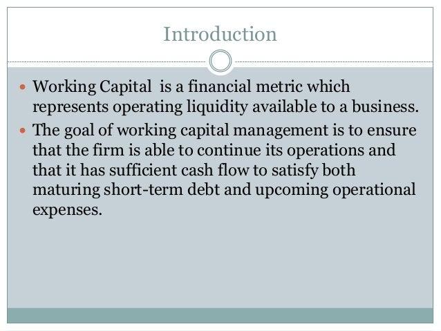 Working capital ppt Slide 2