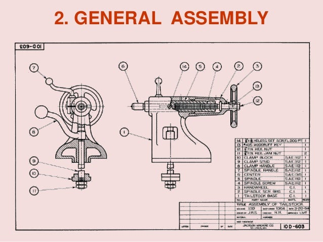 Working drawing general assembly 21 ccuart Choice Image