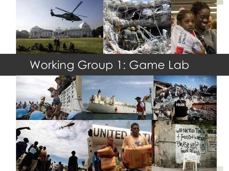 Working Group 1: Game Lab