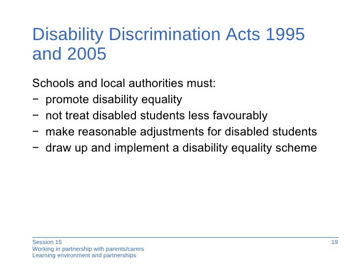 disability discrimination act 1995 pdf