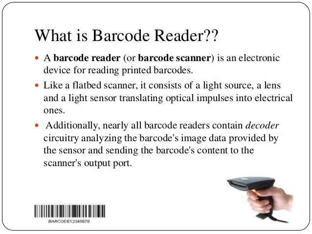 3 What Is Barcode Reader
