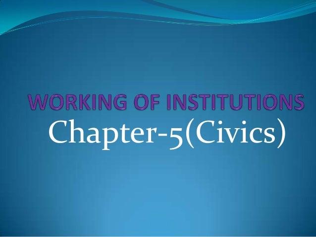 Chapter-5(Civics)