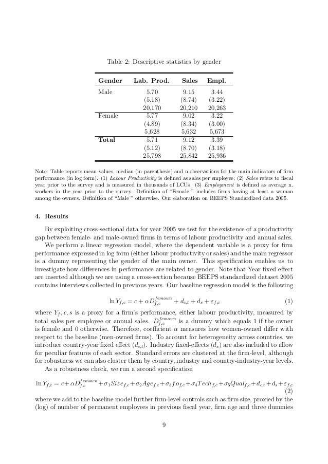 how to explain descriptive statistics