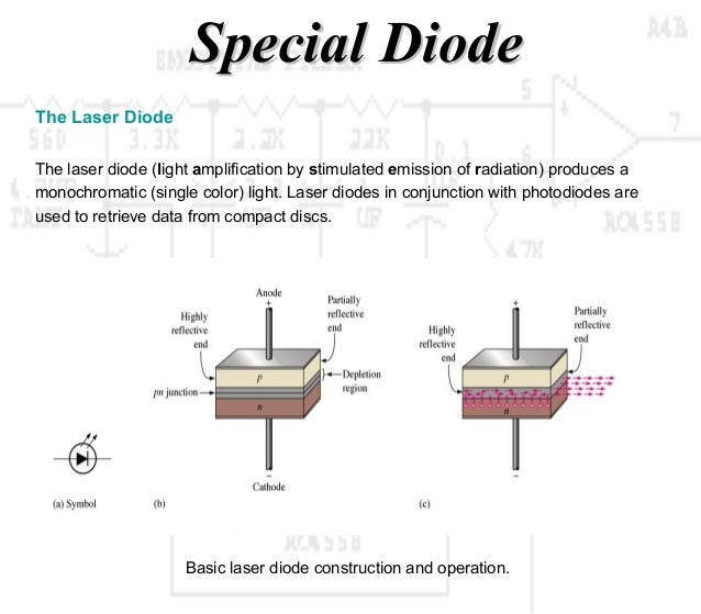 Working Principle Diode And Special Diode