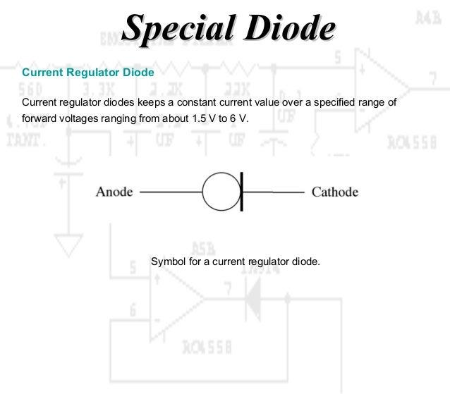 Constant Current Diode Schematic Symbol Block And Schematic Diagrams