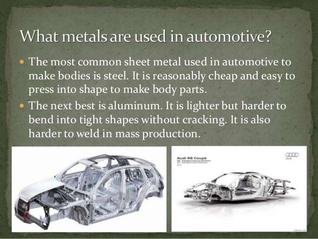 Automotive Working Sheet Metal