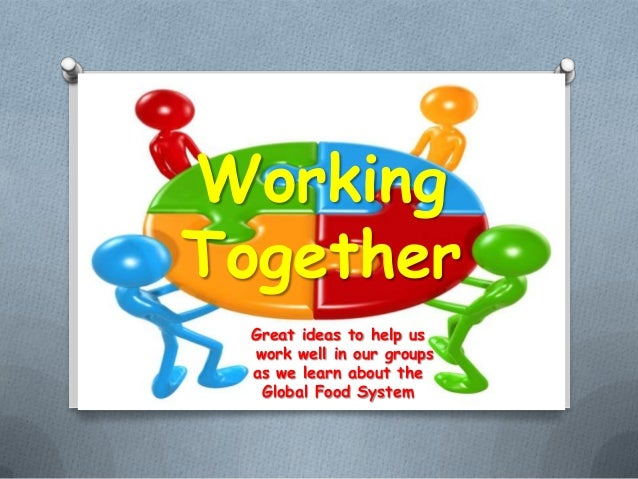how to get groups to work together