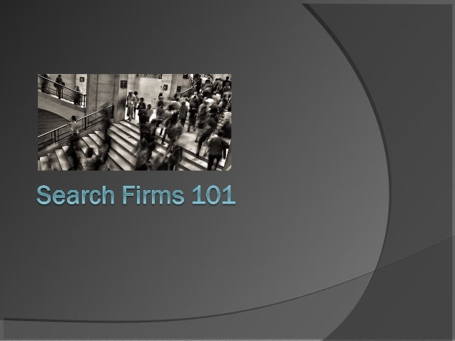 Executive Search Firm | Executive Recruiters | Headhunters ...