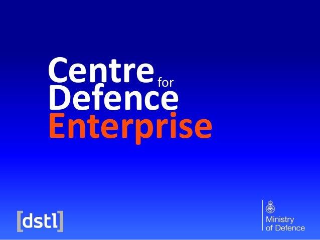 Centre Defence Enterprise for