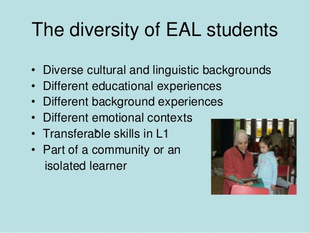 children with english as an additional The purpose of this study was to identify writing challenges in children with english as an additional language (eal) relative to native english-speaking (ns) children a second aim was to.