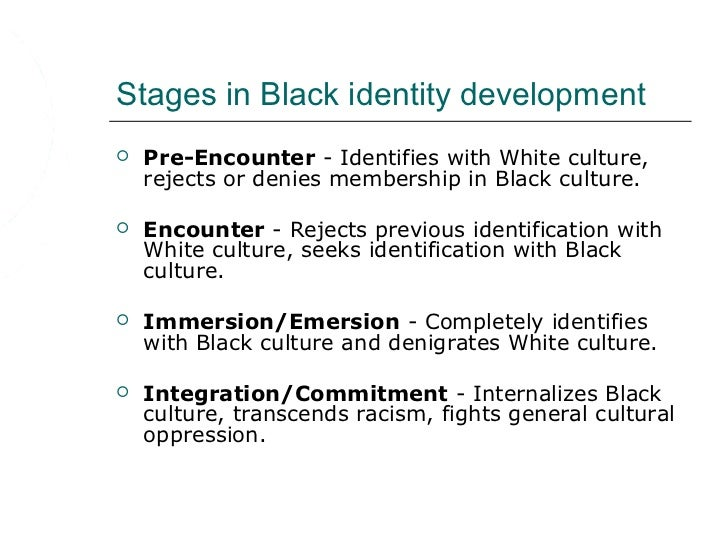 Ethnic and Racial Identity Development