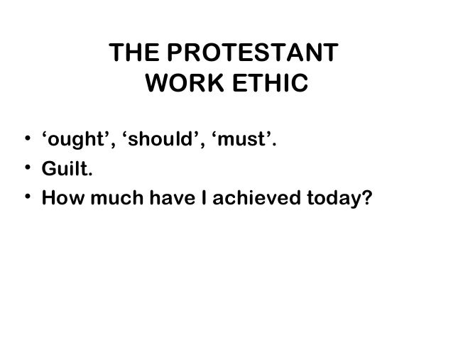 protestant work ethic essays Protestant reformation causes and results essay  the protestant reformation refers to the  the start of values driving people toward a hard work ethic,.