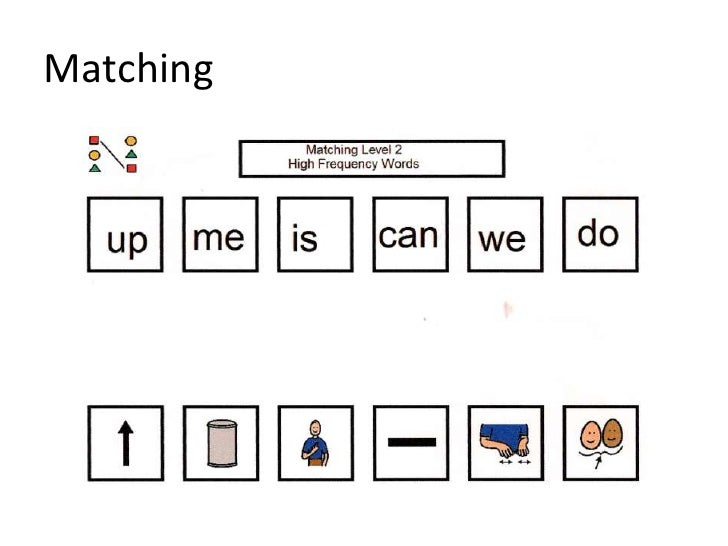 Working With High Frequency Words