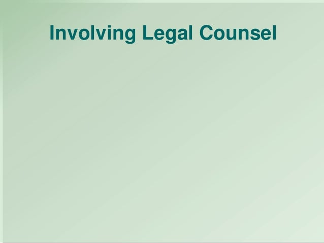 the legal issues involving drug testing in the workplace Being aware of the legal issues involved and the changing legal landscape is important for employers to ensure that their drug testing polices are legal and enforceable the growing marijuana boom.
