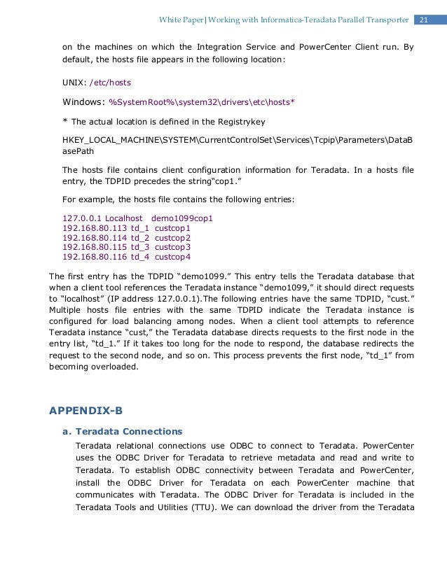 Nice Informatica Teradata Sample Resume. Informatica Sample Resumes .