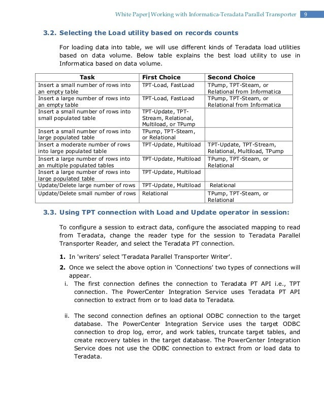 100 teradata sle resume resume informatica resume
