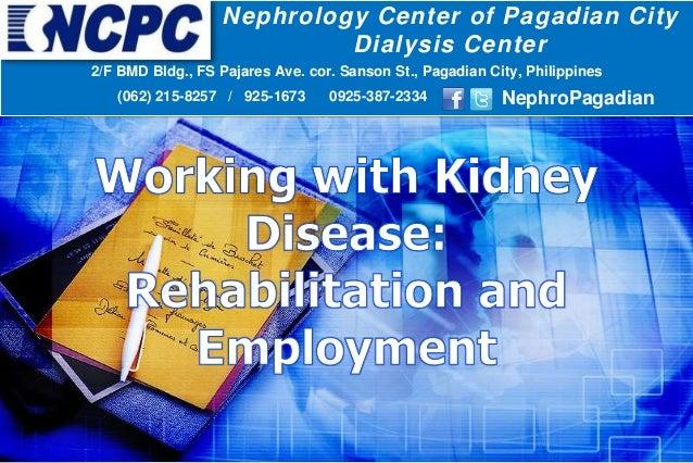 Nephrology Center of Pagadian City Dialysis Center 2/F BMD Bldg., FS Pajares Ave. cor. Sanson St., Pagadian City, Philippi...